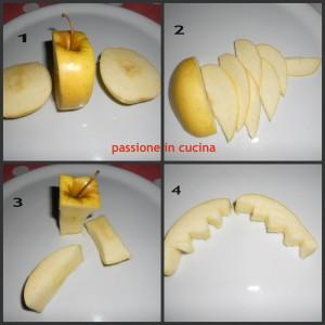 granchietto con la mela, visual food, blog.giallozafferano.it/cuinalory