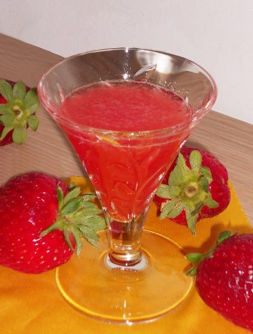 sciroppo alle fragole