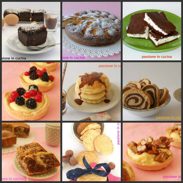 COLLAGE dolci e dolcetti