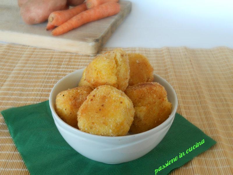 polpette di patate e carote passioneincucina.giallozafferano.it