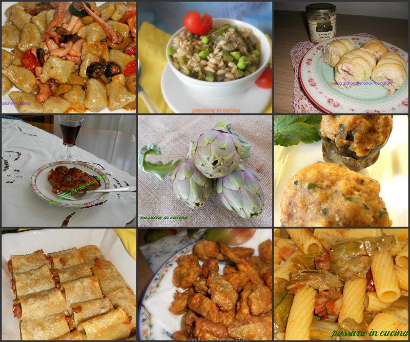 Carciofi arraganati ricetta della tradizione for Ricette con carciofi