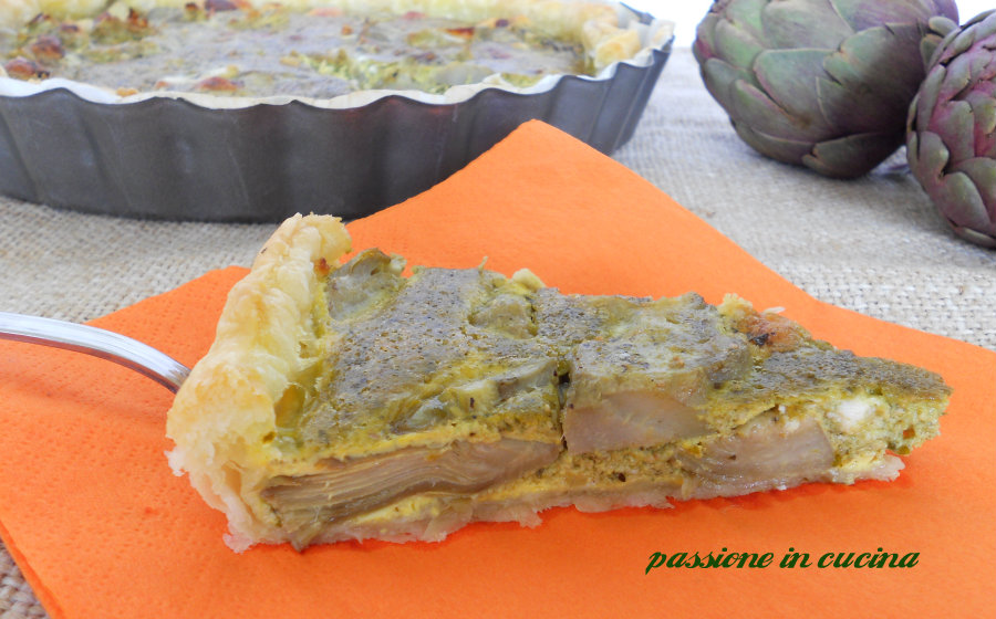 quiche carciofi e pesto passioneincucina.giallozafferano.it