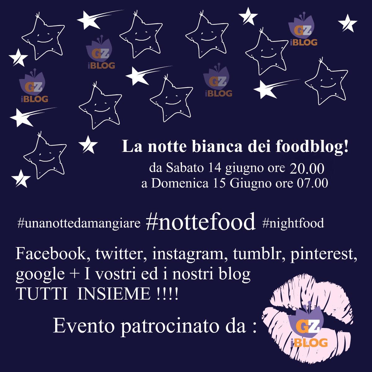 notte bianca blog passioneincucina.giallozafferano.it