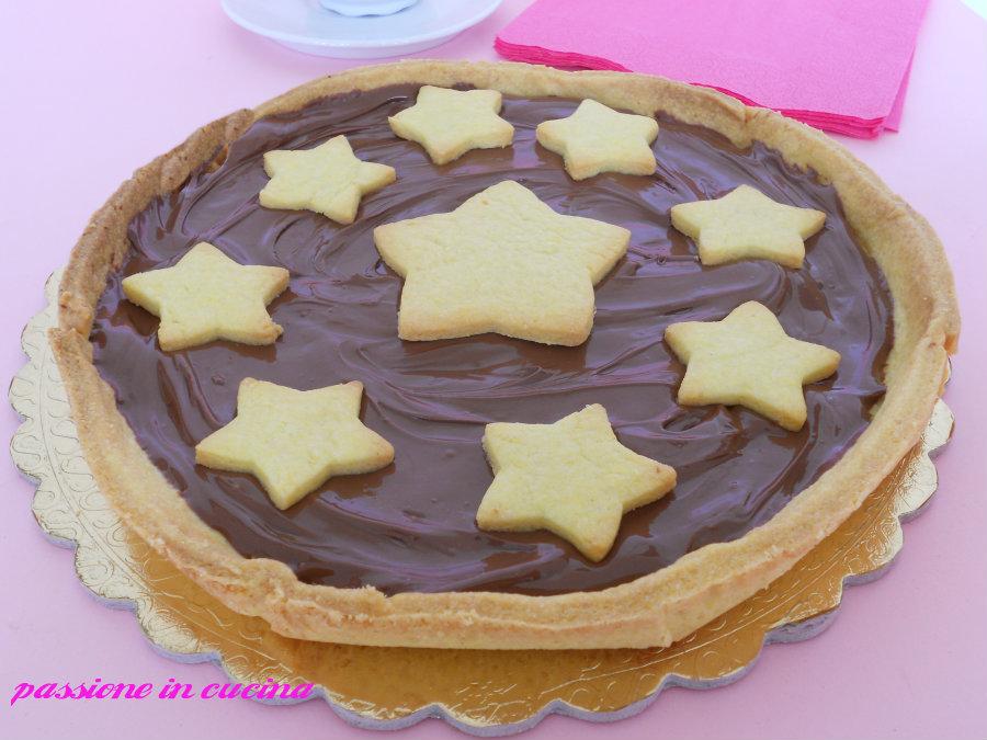 crostata alla nutella-ricetta dolci con la nutella passioneincucina.giallozafferano.it