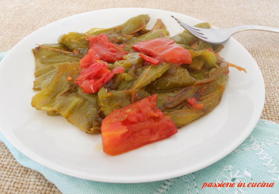 friggitelli con pomodori blog.giallozafferano.it/cuinalory peperoni-ricette contorni