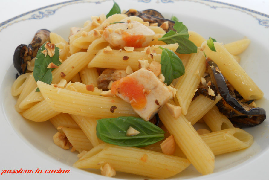 pasta con pesce spada e melanzane blog.giallozafferano.it/cuinalory