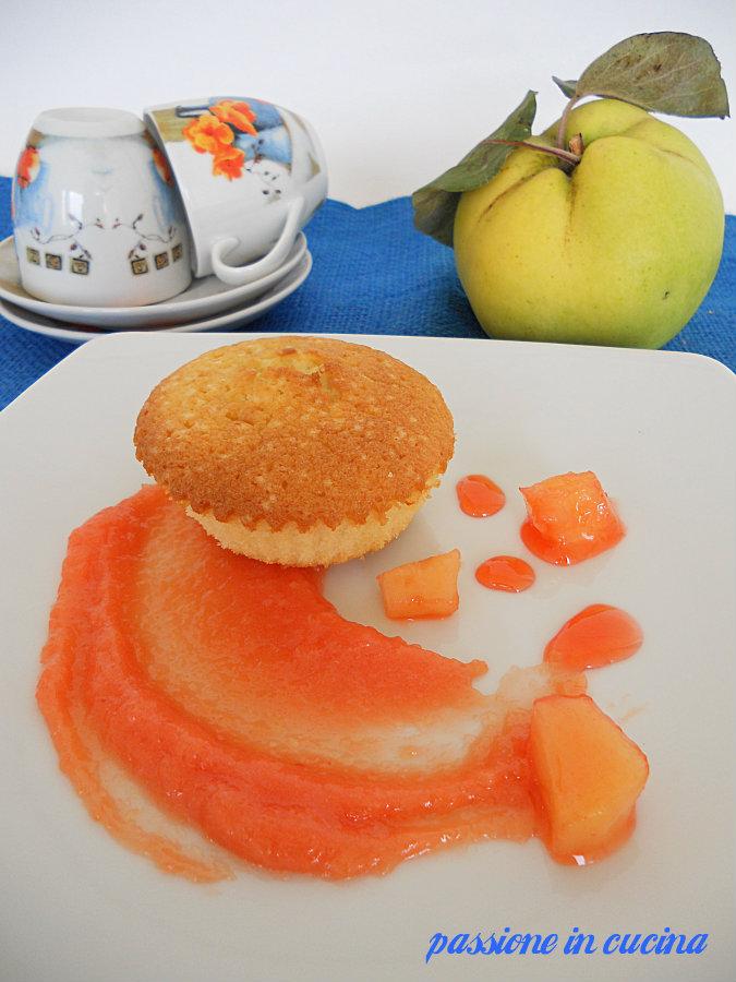 muffin alle mele cotogne https://blog.giallozafferano.it/cuinalory/