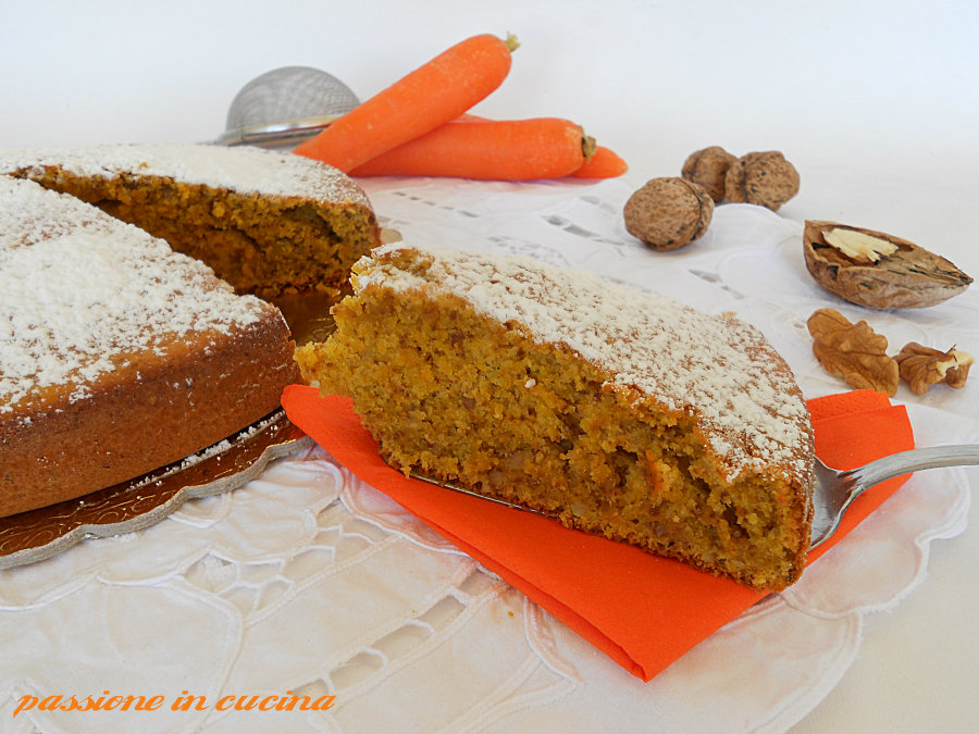 torta di carote e noci https://blog.giallozafferano.it/cuinalory/