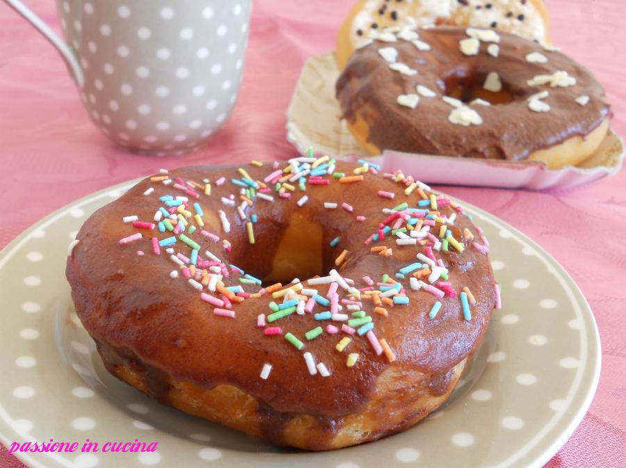 donuts o doughnuts ciambelle americane