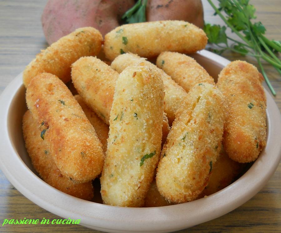 crocchette di patate , ricette con le patate, ricette facili, ricette veloci