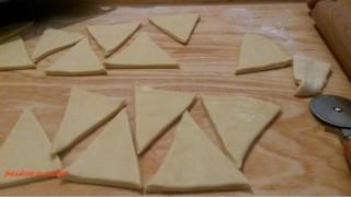 triangoli cornetti