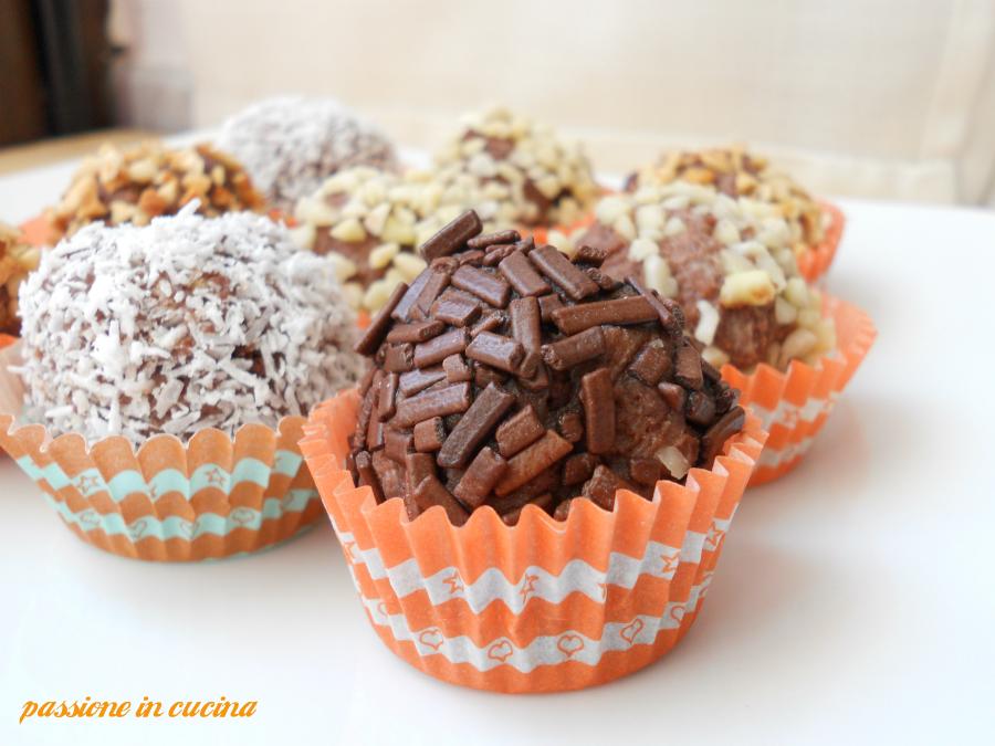 palline alla ricotta e nutella dolci alla nutella, dolci con la ricotta