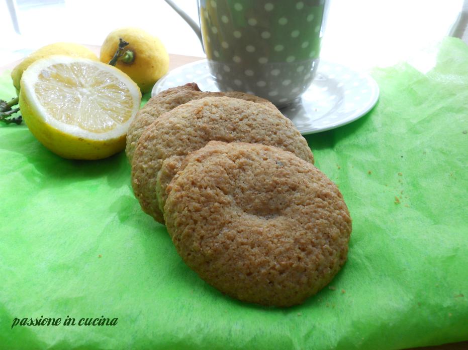biscotti al limone, biscotti per il tè, biscotti al burro