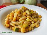 cavatelli con zucchine e ceci, ricette con le zucchine, ricette con i ceci, cavatelli