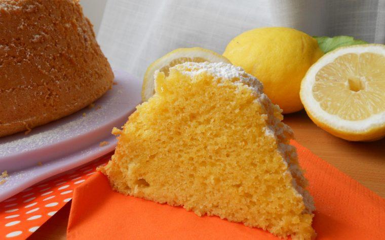 CHIFFON CAKE AL LIMONE DI ROSANNA