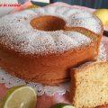 chiffon cake, ciambella del bar, ciambella sofficissima, ciambella soffice come il bar, ciambella al limone