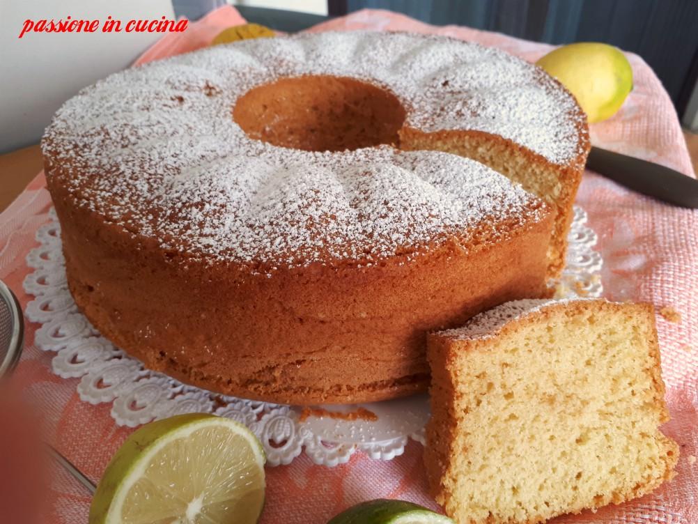 chiffon cake, ciambella del bar, ciambella sofficissima,  ciambella americana, ciambella soffice come il bar, ciambella al limone