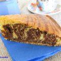 torta zebrata, dolce marmorizzato, torta marmorizzata, ciambella bicolore