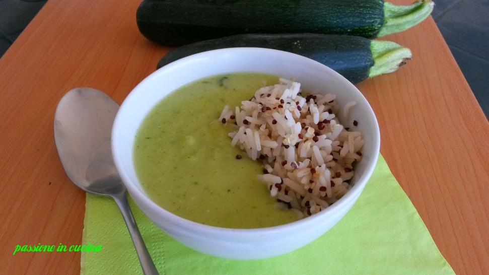 vellutata di zucchine, crema di zucchine, ricette con le zucchine