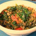 zuppa di lenticchie e spinaci, ricette con gli spinaci, come cucinare gli spinaci, ricette con le lenticchie