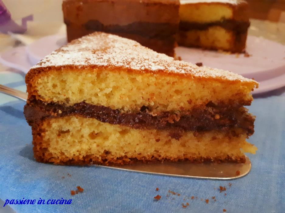 torta morbida alla nutella, torta alla nutella che non va sul fondo, torta alla nutella, torta con la nutella, torta alla nutella con doppia cottura