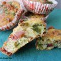 muffin agli spinaci, scamorza affumicata, muffin salati, ricette per picnic