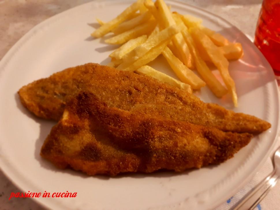 fish and chips, fish and chips ricetta, filetto di merluzzo panato alforno, fish and chips al forno, patatine fritte al forno