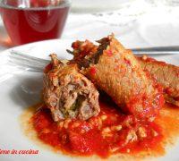 braciole o brasciole-ricette della cucina pugliese, involtini di carne, ricetta barese, braciole baresi