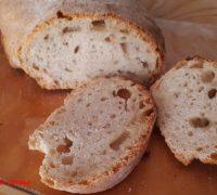 pane di farro, ricetta del pane fatto in casa, pane con poco lievito, pane facile, pane veloce, pane semplice