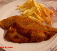 fish and chips, fish and chips ricetta, filetto di merluzzo panato alforno, fish and chips al forno, patatine fritte al forno