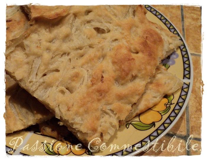 Focaccia di cipolla ovvero il Tirot Mantovano