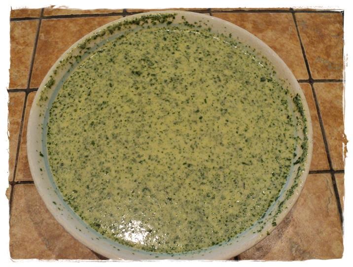 pastella al pesto