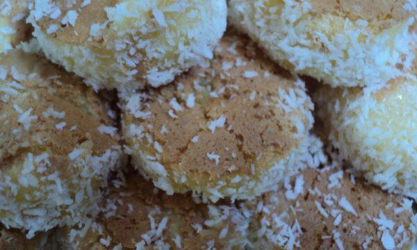 Bocconcini e tartufi di frittata dolce al forno