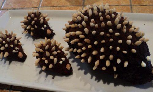 Ricci di cioccolato: Buon compleanno Ale