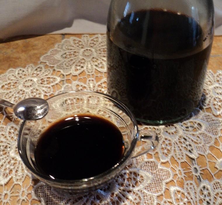 caffè corretto in tazza