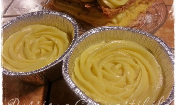 Crema pasticcera senza glutine