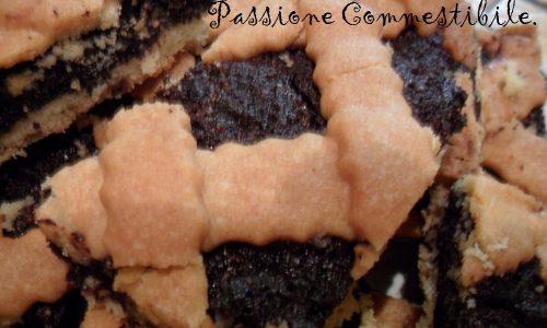 Crostata di mandorle e cacao