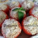 pomodori ripieni di farro crudi