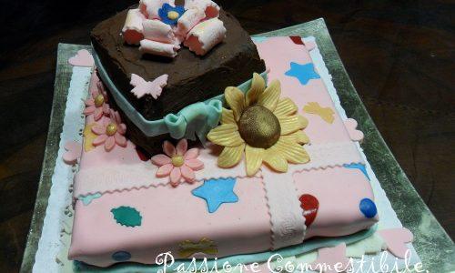 Torta Sgnauss: Buon Compleanno Alessandra!