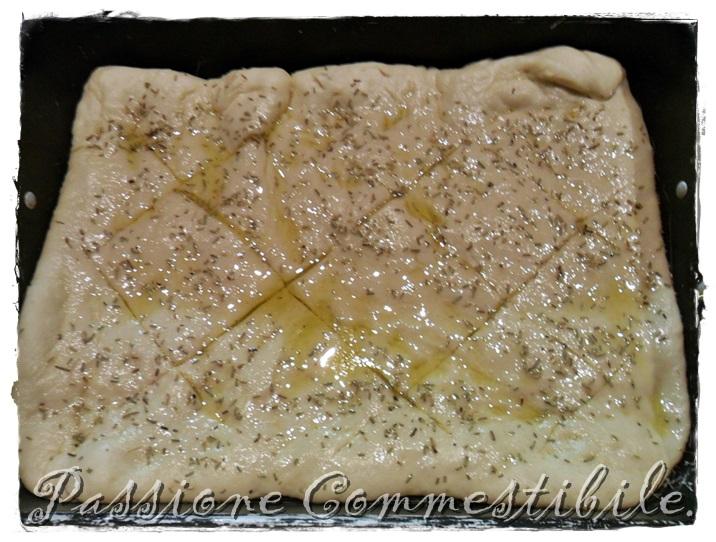Focaccia all'olio d'oliva 2