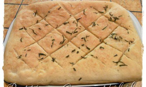 Focaccia all'olio d'oliva