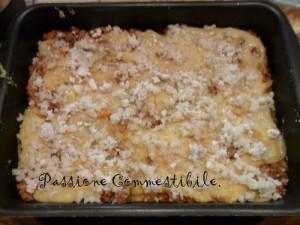 strato polenta e formaggi