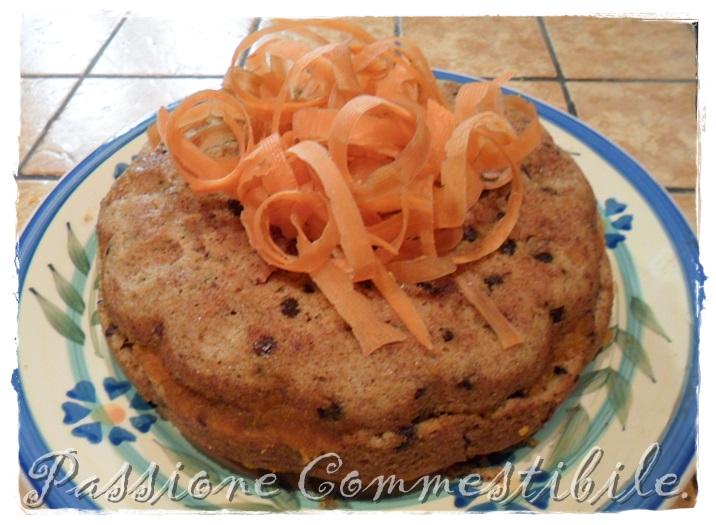 torta di carote con marmellata di carote
