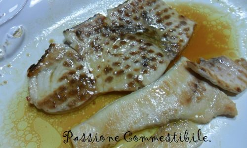 Pesce spada in salsa citronette