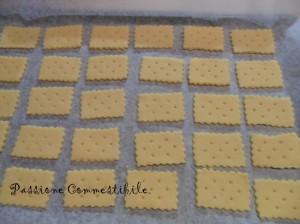 petit beurre prima della cottura