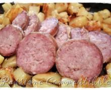 Salame di carne fresca al forno