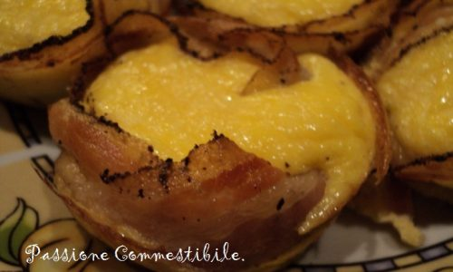 Frittatine nella pancetta