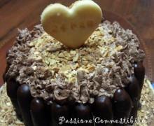 24/02/2013 Torta Buon Anniversario (senza glutine) 23 anni di matrimonio!!!!