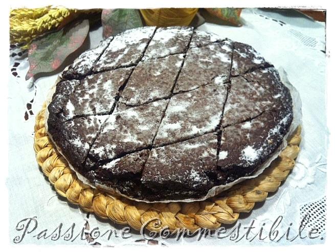 Brownies tagliati