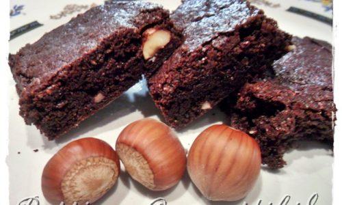 Brownies alle nocciole senza glutine